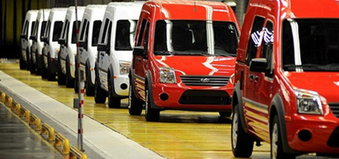 Türkiye Otomobil ve Hafif Ticari Araç Pazarı, 2012 yılında % 10 Daraldı.